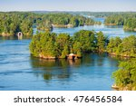 boathouses in thousand islands... | Shutterstock . vector #476456584