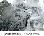 ink marble texture.abstract... | Shutterstock . vector #476464948