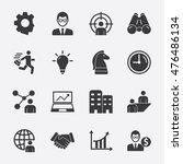 business vector icon 2 | Shutterstock .eps vector #476486134