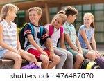 primary education  friendship ... | Shutterstock . vector #476487070