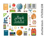 education concept illustration. ... | Shutterstock . vector #476506108