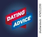 dating advice arrow tag sign. | Shutterstock .eps vector #476511550