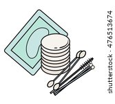 hygiene icons. vector picture.... | Shutterstock .eps vector #476513674