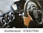 modern car interior | Shutterstock . vector #476517544