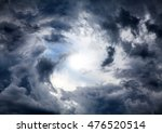 light in the dark and dramatic... | Shutterstock . vector #476520514