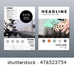 cover template with abstract... | Shutterstock .eps vector #476523754