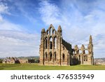Ruins Of Whitby Abbey Sited On...
