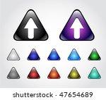 web buttons   Shutterstock .eps vector #47654689