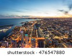 aerial view of toronto city at... | Shutterstock . vector #476547880
