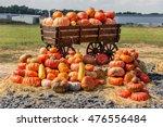 Big Wagon Of Pumpkins.