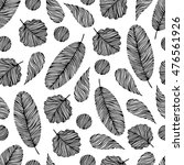 seamless pattern with hand... | Shutterstock . vector #476561926