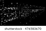 abstract particles explosion.... | Shutterstock . vector #476583670