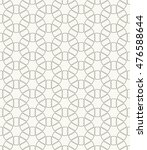 seamless line pattern in... | Shutterstock .eps vector #476588644