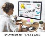 creativity design process... | Shutterstock . vector #476611288