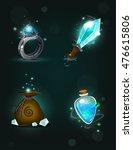 set of magic game designing...