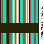 abstract vector background. | Shutterstock .eps vector #47662267
