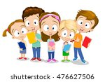cartoon vector illustration of... | Shutterstock .eps vector #476627506