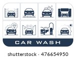 collection of very useful icons ... | Shutterstock .eps vector #476654950
