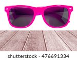 pink sun glasses isolated over... | Shutterstock . vector #476691334