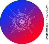 mandala design | Shutterstock . vector #476706694