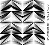 seamless triangle pattern.... | Shutterstock .eps vector #476717170