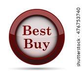 best buy icon. internet button...   Shutterstock . vector #476753740
