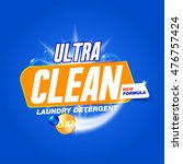 ultra clean. template for... | Shutterstock .eps vector #476757424