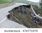 Landslide On A National Road I...