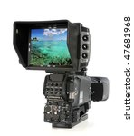 high definition video camera... | Shutterstock . vector #47681968