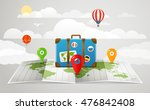 travel bag vector illustration. ... | Shutterstock .eps vector #476842408