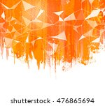 splashes orange background.... | Shutterstock .eps vector #476865694