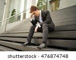 asian man  working in the... | Shutterstock . vector #476874748