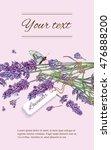 lavender natural cosmetics... | Shutterstock .eps vector #476888200