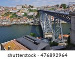 porto  portugal  15 june 2016 ... | Shutterstock . vector #476892964