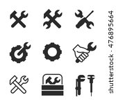 repair vector icons. simple...