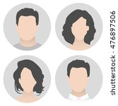 colorful material vector people ... | Shutterstock .eps vector #476897506