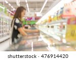 woman shopping at super store   ... | Shutterstock . vector #476914420