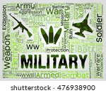 military word meaning armed... | Shutterstock . vector #476938900