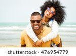 young afro american couple... | Shutterstock . vector #476954779