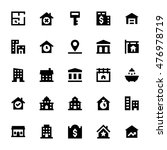 real estate vector icons 3 | Shutterstock .eps vector #476978719