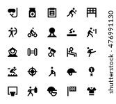 sports and games vector icons 3 | Shutterstock .eps vector #476991130