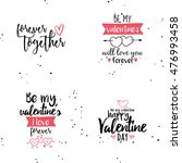 happy valentines day | Shutterstock .eps vector #476993458