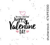 happy valentines day | Shutterstock .eps vector #476993500