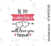 happy valentines day | Shutterstock .eps vector #476993530