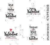 happy valentines day | Shutterstock .eps vector #476993608
