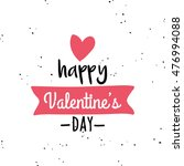 happy valentines day | Shutterstock .eps vector #476994088