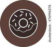 doughnut | Shutterstock .eps vector #476996578
