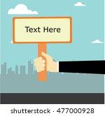 signpost vector design   Shutterstock .eps vector #477000928