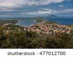 panoramic sight of mali losinj... | Shutterstock . vector #477012700