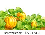 vector illustration of growing... | Shutterstock .eps vector #477017338